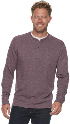Method Products Men's Classic-Fit Mock-Layer Henley