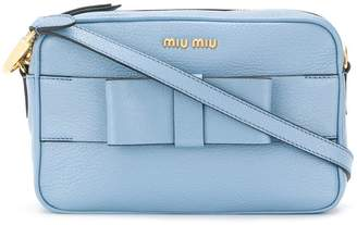 Miu Miu bow detail camera bag