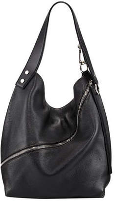 Proenza Schouler Medium Grain Leather Hobo Bag