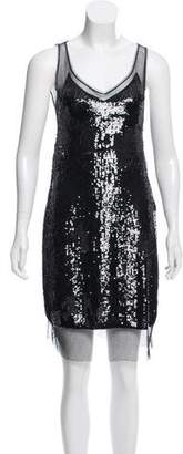 Marc Jacobs Sleeveless Sequin Dress