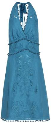 Talitha Collection Embellished cotton dress