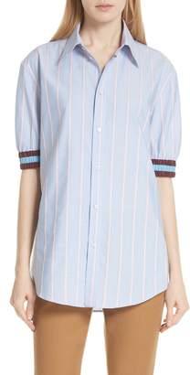N°21 N21 Stripe Cotton Shirt