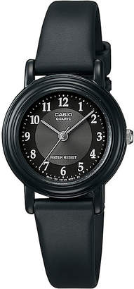 Casio Womens Black Resin Strap Watch LQ139A-1B3OS