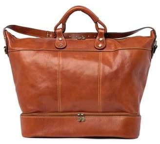 Santi Persaman New York Leather Book Bag