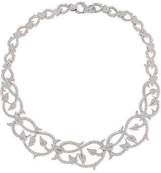 Stephen Webster Poison Ivy 18-karat White Gold Diamond Necklace - one size