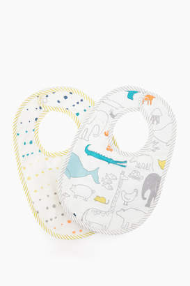 Pehr Designs Noah's Ark Bib Set