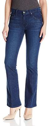 James Jeans Women's Classic Mid Rise Boot Legn