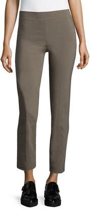 Avenue Montaigne Lili Slim Ankle Pants $195 thestylecure.com