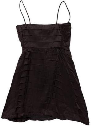 CNC Costume National Satin Mini Dress