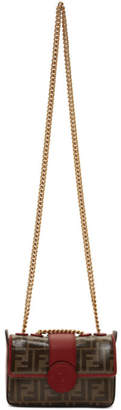 Fendi Red Mini Forever Chain Bag