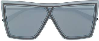 Christian Roth oversized square-frame sunglasses