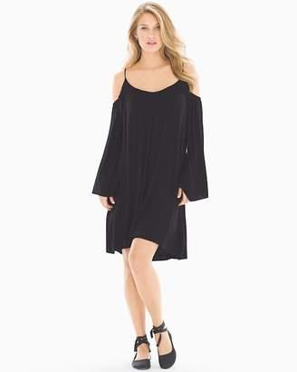 Elan International Cold Shoulder Short Dress