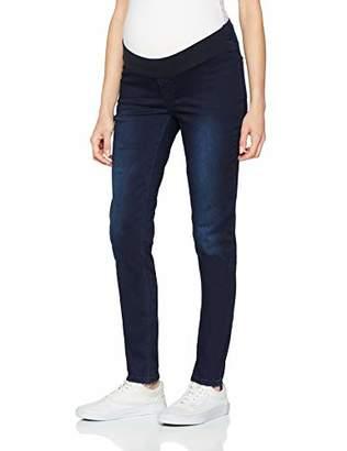Esprit Women's Jegging UTB Trousers, Blue (Darkwash 9)
