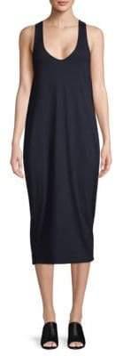 AG Adriano Goldschmied FTJ Cotton Midi Dress