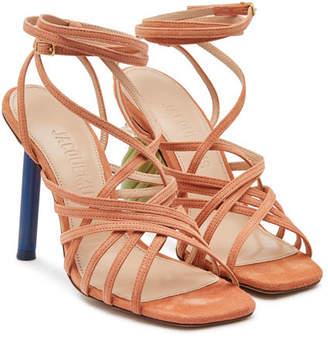 Jacquemus Les Sandales Pisa Suede Sandals