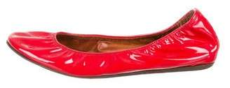 Lanvin Patent Leather Ballet Flats
