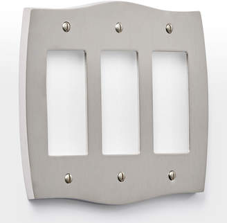 Rejuvenation Colonial Triple GFCI Switchplate