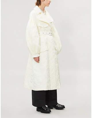 Simone Rocha MONCLER GENIUS 4 Moncler Dinah embroidered shell-down jacket