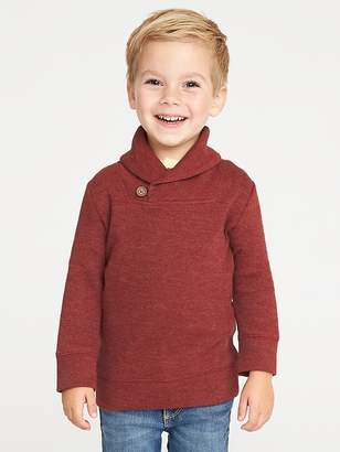 Old Navy French-Rib Shawl-Collar Pullover for Toddler Boys