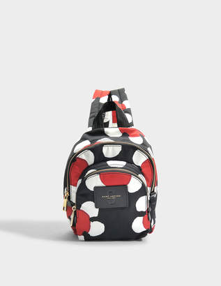 Marc Jacobs Mini Double Pack Backpack Red Polyester