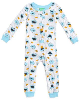 Infant Boys Cookie Monster Footless Sleep N Play