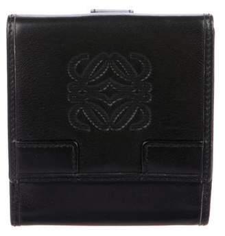 Loewe Logo Leather Wallet