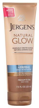 Jergens Natural Glow Firming Daily Moisturizer Medium to Tan