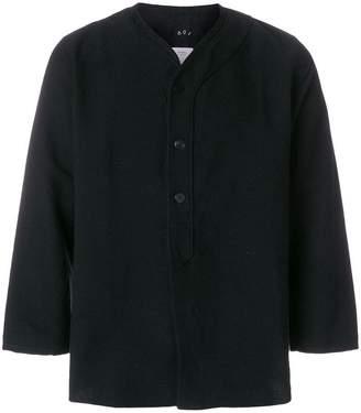 Visvim cropped sleeves shirt jacket