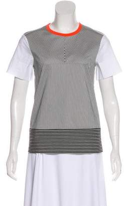 Cédric Charlier Striped Knit Top