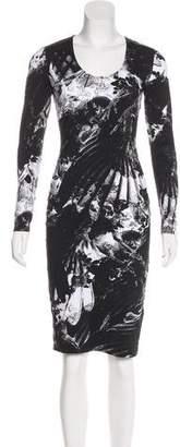 Preen by Thornton Bregazzi Preen Long Sleeve Midi Dress