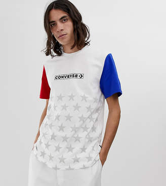 16618ba3949d ... Converse One Star  86 T-Shirt In White Exclusive at ASOS