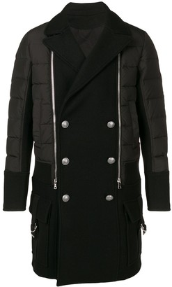 Balmain double breasted coat