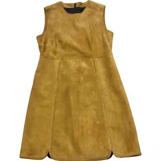Longchamp Camel Suede Dresses