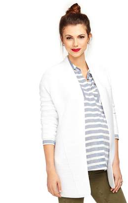 Vince Pea Collection Cotton Maternity Cardigan