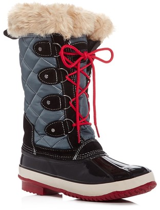 Khombu Andie Quilted Cold Weather Boots $129 thestylecure.com