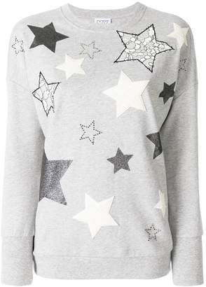 Twin-Set star embroidered sweater