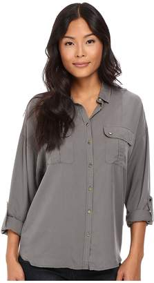 Mavi Jeans Drapey Shirt w/ Pocket Women's Clothing