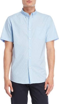 N. Oxford Lads Anchor Patch Pocket Shirt