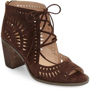 Women's Vince Camuto 'Tarita' Cutout Lace-Up Sandal $128.95 thestylecure.com