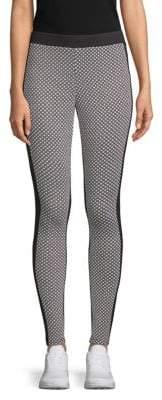 3697a3dcbbb97 Black Polyester Rayon Spandex Leggings - ShopStyle