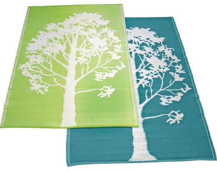 Koko - Trees Plastic Floormat 6 x 4