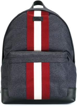 Bally contrast stripe backpack