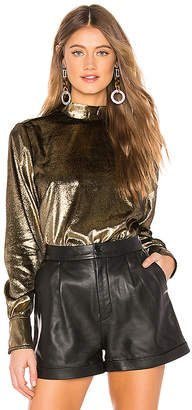 Frame Metallic Tie Top