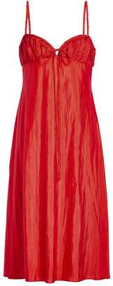 Brock Collection Deidie Cotton-Silk Dress