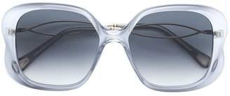 Chloé Eyewear oversized square sunglasses