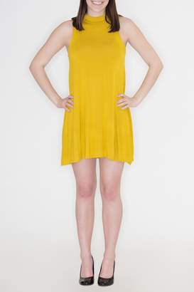 Cherish Mock Neck Dress