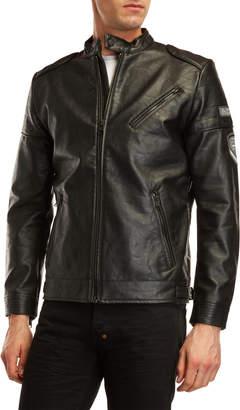 Buffalo David Bitton Janvier Vegan Leather Jacket