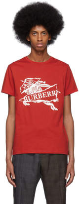 Burberry Red Cruise T-Shirt