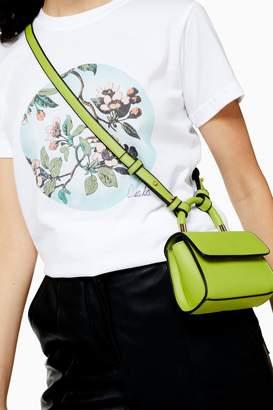 Topshop CINDY Lime Mini Cross Body Bag