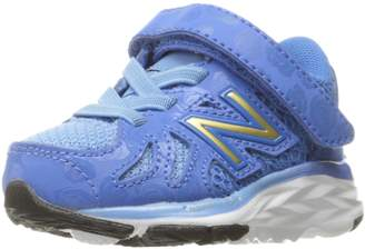 """New Balance Girls' 790 V6 Disney's """"Belle of the Ball"""" Hook and Loop Running-Shoes"""